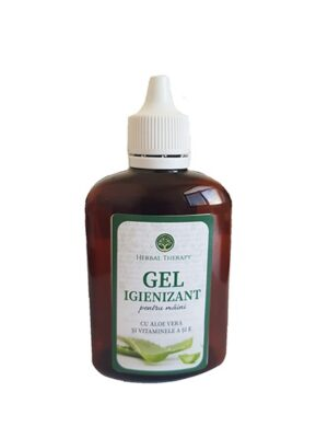 Gel igienizant pentru maini 100ml Herbal Therapy