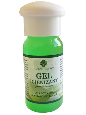 Gel igienizant pentru maini 50ml Herbal Therapy